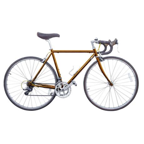 Amsterdam 2020 országúti kerékpár alumínium - dohány
