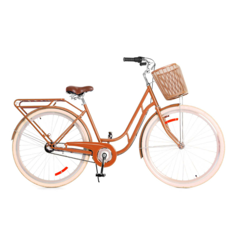 Amsterdam classic 2020 női városi kerékpár - barna